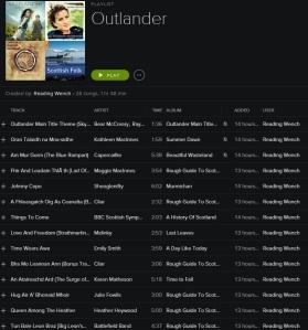 Outlander Playlist